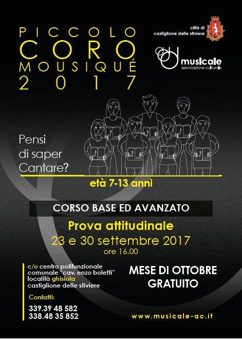 Piccolo coro Musiqué 2017
