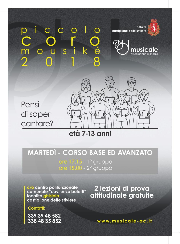 Piccolo Coro Mousikè 2018