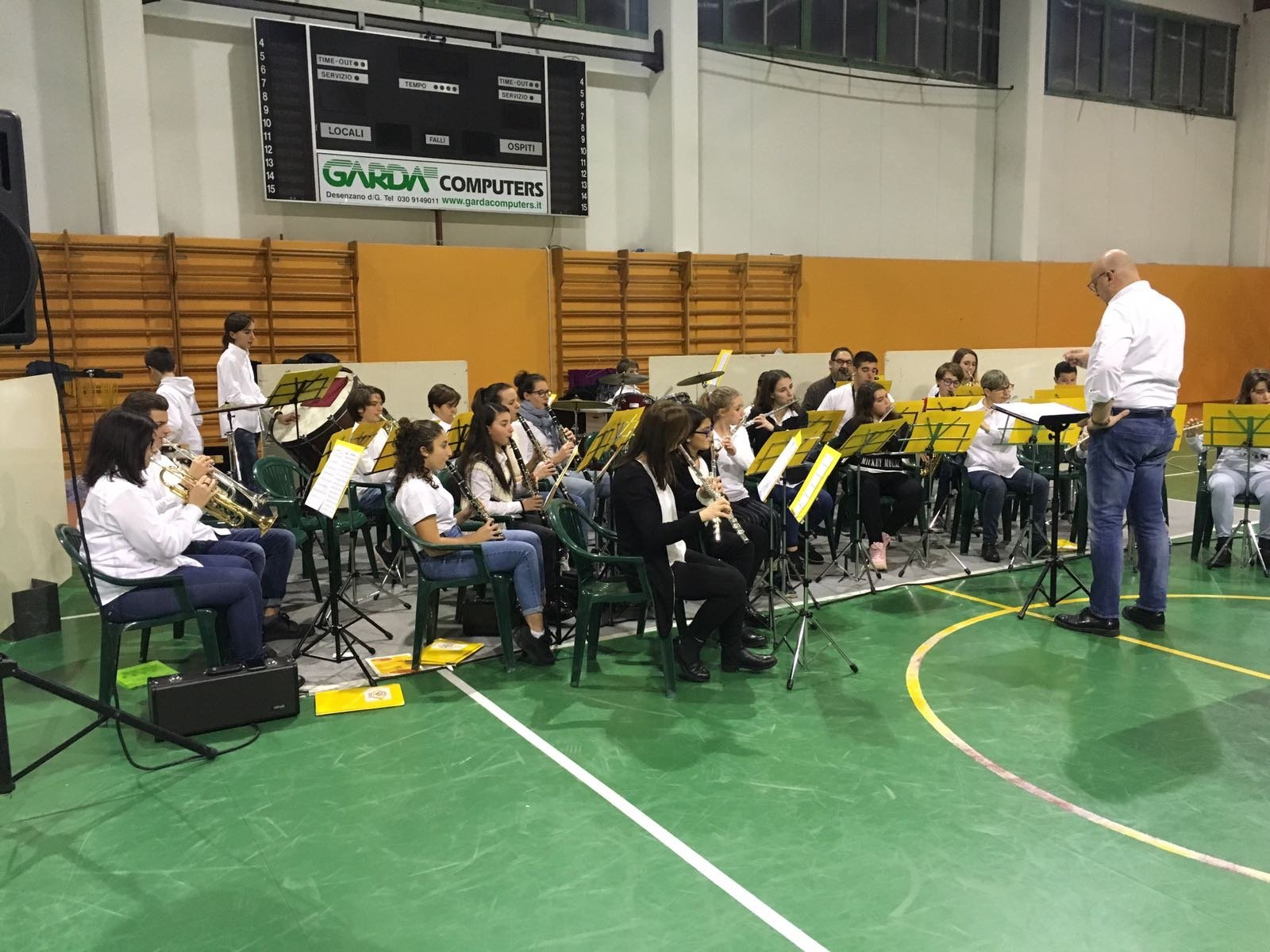 Concerto Junior Band con Simo Music Band a San Felice del Benaco
