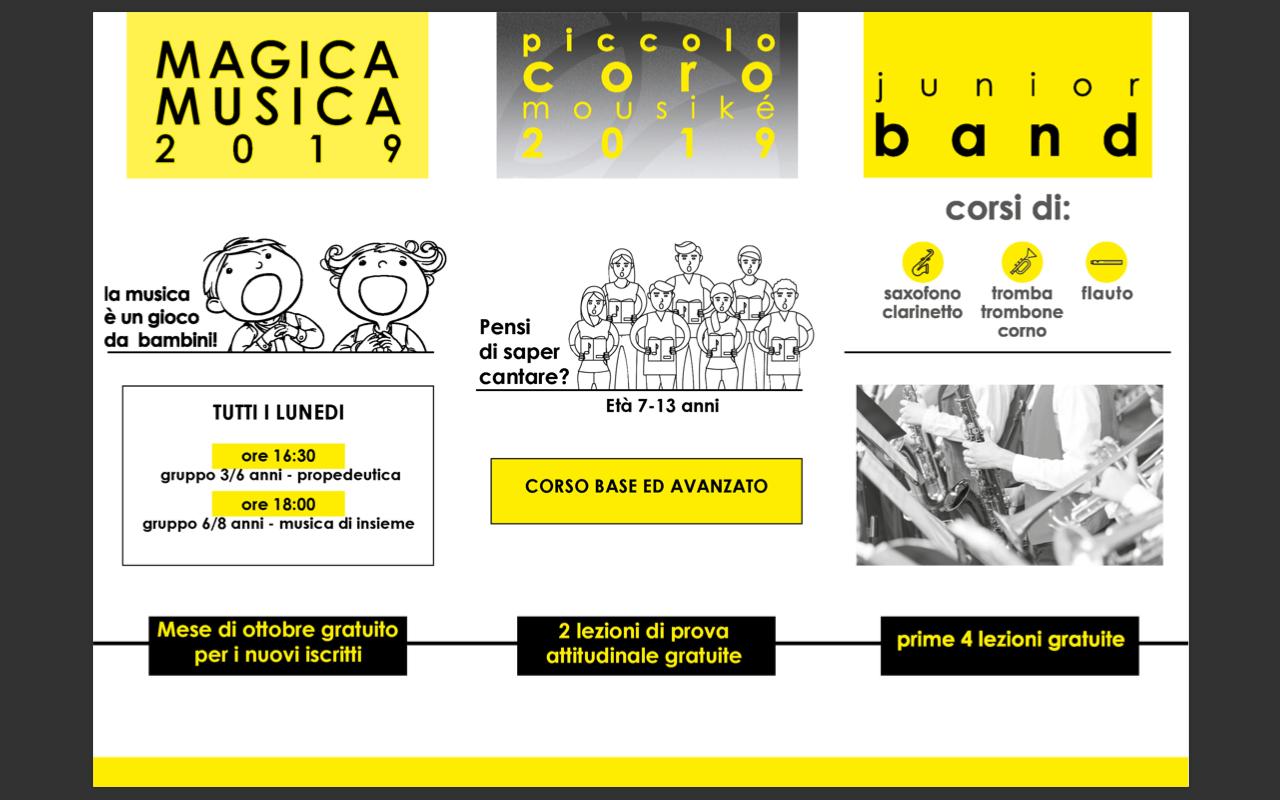 Coro-propedeutica-banda 2019/20