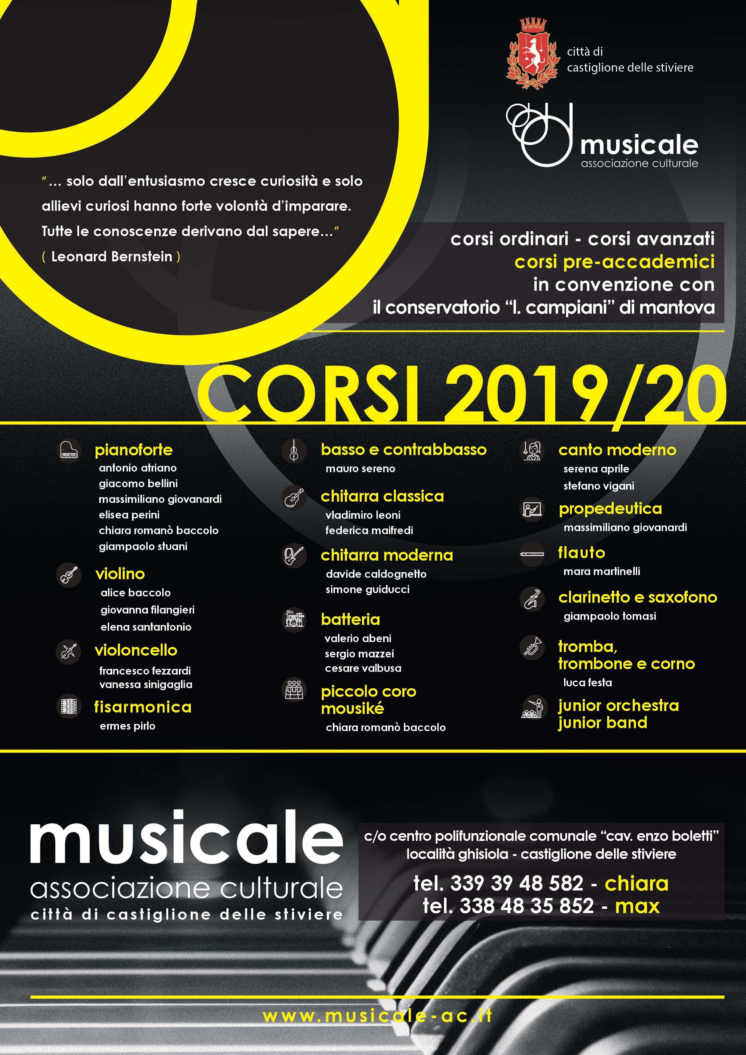 Corsi 2019-20